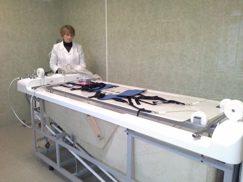 Бальнеотерапия Подводное вытяжение